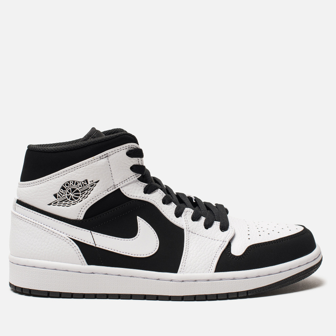 Мужские кроссовки Jordan Air Jordan 1 Mid White/Black/White