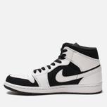 Мужские кроссовки Jordan Air Jordan 1 Mid White/Black/White фото- 1