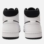 Мужские кроссовки Jordan Air Jordan 1 Mid White/Black/White фото- 3