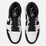 Мужские кроссовки Jordan Air Jordan 1 Mid White/Black/White фото- 5