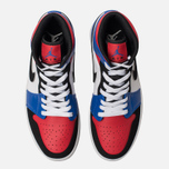 Мужские кроссовки Jordan Air Jordan 1 Mid White/Hyper Royal/University Red/Black фото- 5