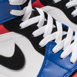 Мужские кроссовки Jordan Air Jordan 1 Mid White/Hyper Royal/University Red/Black фото- 6