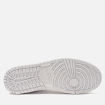 Мужские кроссовки Jordan Air Jordan 1 Mid White/Pure Platinium/White фото- 4