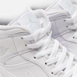 Мужские кроссовки Jordan Air Jordan 1 Mid White/Pure Platinium/White фото- 6