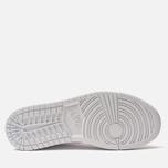 Мужские кроссовки Jordan Air Jordan 1 Mid White/White/White фото- 4