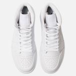 Мужские кроссовки Jordan Air Jordan 1 Mid White/White/White фото- 5