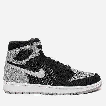 Мужские кроссовки Jordan Air Jordan 1 Retro High Flyknit Black/Medium Grey/White