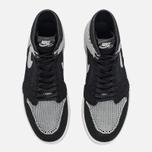 Мужские кроссовки Jordan Air Jordan 1 Retro High Flyknit Black/Medium Grey/White фото- 4