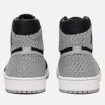 Мужские кроссовки Jordan Air Jordan 1 Retro High Flyknit Black/Medium Grey/White фото- 5