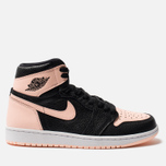 Мужские кроссовки Jordan Air Jordan 1 Retro High OG Black/Crimson Tint/White/Hyper Pink фото- 0