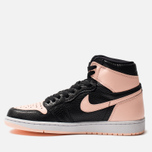 Мужские кроссовки Jordan Air Jordan 1 Retro High OG Black/Crimson Tint/White/Hyper Pink фото- 2