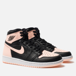 Мужские кроссовки Jordan Air Jordan 1 Retro High OG Black/Crimson Tint/White/Hyper Pink фото- 1