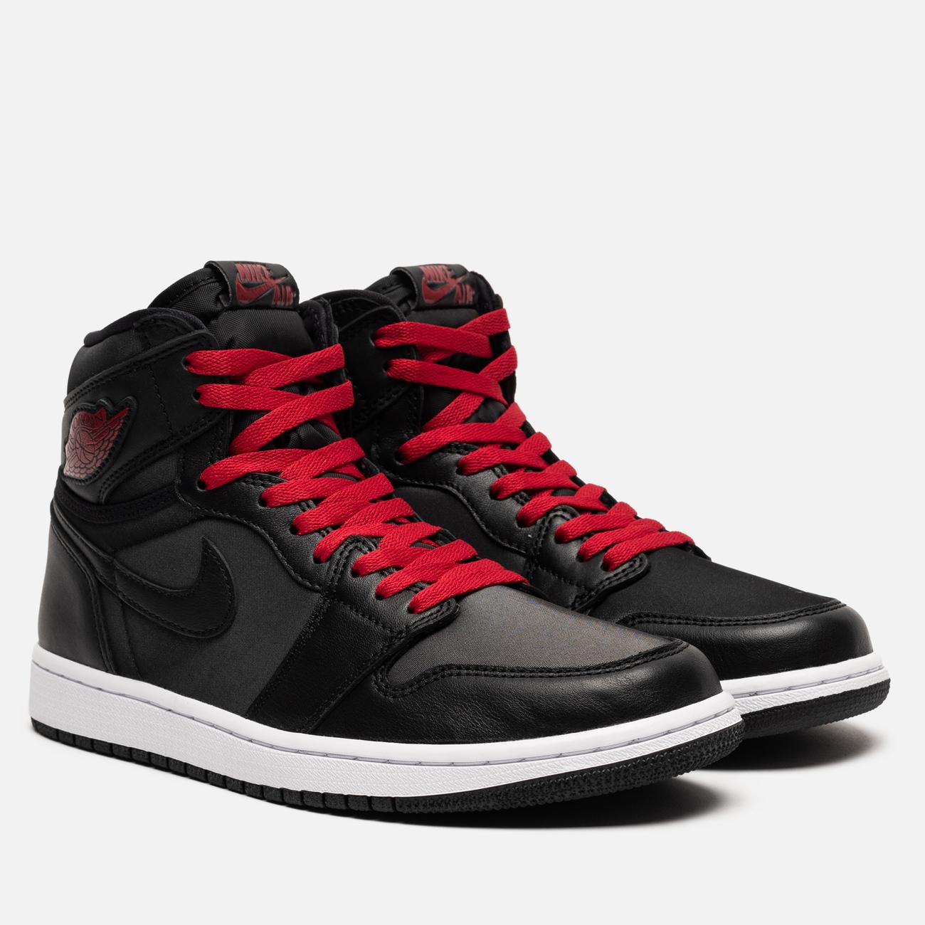 Мужские кроссовки Jordan Air Jordan 1 Retro High OG Black/Gym Red/Black/White