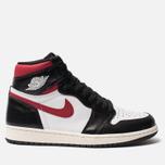 Мужские кроссовки Jordan Air Jordan 1 Retro High OG Black/Gym Red/White/Sail фото- 0