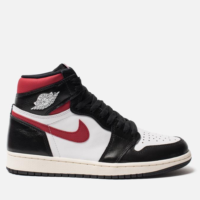 Мужские кроссовки Jordan Air Jordan 1 Retro High OG Black/Gym Red/White/Sail