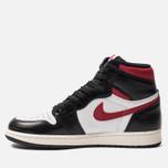 Мужские кроссовки Jordan Air Jordan 1 Retro High OG Black/Gym Red/White/Sail фото- 1