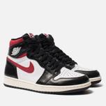 Мужские кроссовки Jordan Air Jordan 1 Retro High OG Black/Gym Red/White/Sail фото- 2