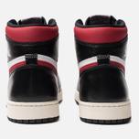 Мужские кроссовки Jordan Air Jordan 1 Retro High OG Black/Gym Red/White/Sail фото- 3