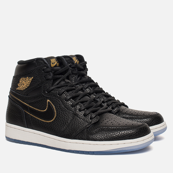 Мужские кроссовки Jordan Air Jordan 1 Retro High OG Black/Metallic Gold/Summit White