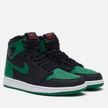 Мужские кроссовки Jordan Air Jordan 1 Retro High OG Black/Pine Green/White/Gym Red фото- 0