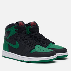Мужские кроссовки Jordan Air Jordan 1 Retro High OG Black/Pine Green/White/Gym Red