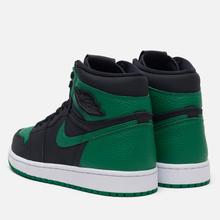 Мужские кроссовки Jordan Air Jordan 1 Retro High OG Black/Pine Green/White/Gym Red фото- 2