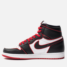 Мужские кроссовки Jordan Air Jordan 1 Retro High OG Bloodline Black/Gym Red/White фото- 1