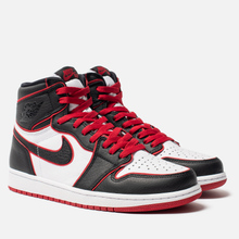 Мужские кроссовки Jordan Air Jordan 1 Retro High OG Bloodline Black/Gym Red/White фото- 2