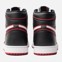 Мужские кроссовки Jordan Air Jordan 1 Retro High OG Bloodline Black/Gym Red/White фото- 3