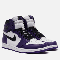 Мужские кроссовки Jordan Air Jordan 1 Retro High OG Court Purple/Black/White