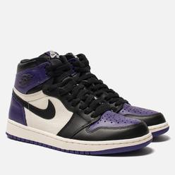 Мужские кроссовки Jordan Air Jordan 1 Retro High OG Court Purple/Sail/Black