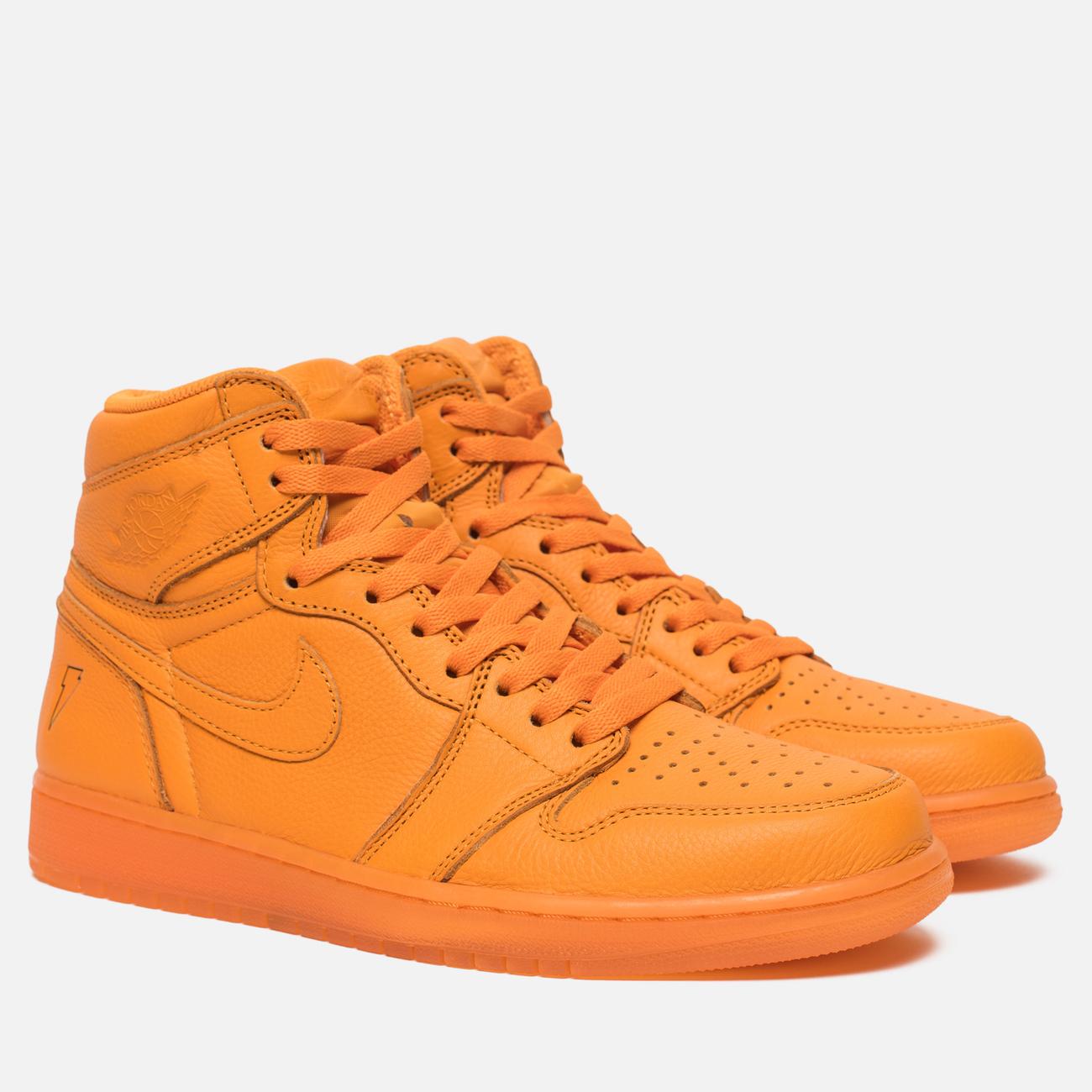 Мужские кроссовки Jordan Air Jordan 1 Retro High OG Gatorade Edition Orange Peel/Orange Peel