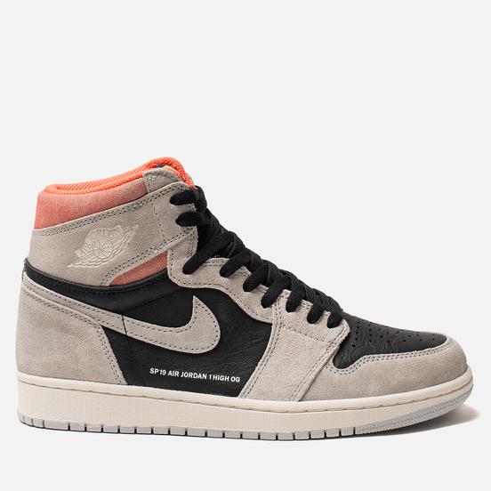 Мужские кроссовки Jordan Air Jordan 1 Retro High OG Neutral Grey/Black/Hyper Crimson/White
