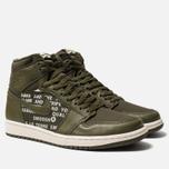 Мужские кроссовки Jordan Air Jordan 1 Retro High OG Olive Canvas/Sail фото- 2