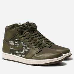 Мужские кроссовки Jordan Air Jordan 1 Retro High OG Olive Canvas/Sail