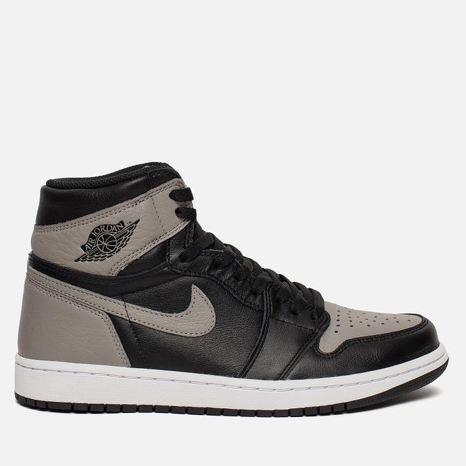 Мужские кроссовки Jordan Air Jordan 1 Retro High OG Shadow Black Medium  Grey White ... 9b2d99106a4