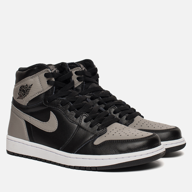 Мужские кроссовки Jordan Air Jordan 1 Retro High OG Shadow Black/Medium Grey/White
