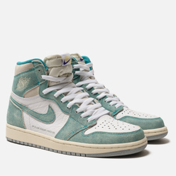 Мужские кроссовки Jordan Air Jordan 1 Retro High OG Turbo Green/Sail/White/Light Smoke Grey