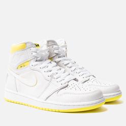 Мужские кроссовки Jordan Air Jordan 1 Retro High OG White/Dynamic Yellow/Black