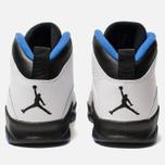Мужские кроссовки Jordan Air Jordan 10 Retro White/Black/Royal Blue/Metallic Silver фото- 3