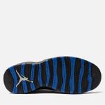 Мужские кроссовки Jordan Air Jordan 10 Retro White/Black/Royal Blue/Metallic Silver фото- 4