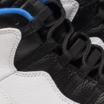 Мужские кроссовки Jordan Air Jordan 10 Retro White/Black/Royal Blue/Metallic Silver фото- 6