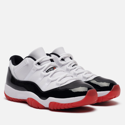 Мужские кроссовки Jordan Air Jordan 11 Retro Low Concord Bred White/University Red/Black/True Red