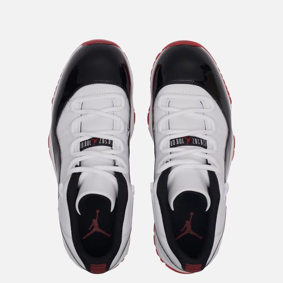 Мужские кроссовки Jordan Air Jordan 11 Retro Low Concord Bred White/University Red/Black/True Red