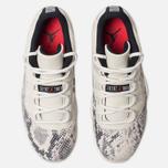 Мужские кроссовки Jordan Air Jordan 11 Retro Low Light Bone/University Red/Sail/Black фото- 4