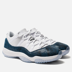 Мужские кроссовки Jordan Air Jordan 11 Retro Low White/Black/Navy