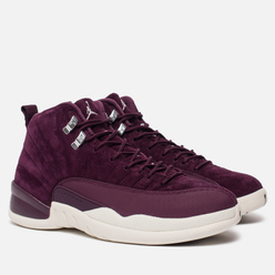 Мужские кроссовки Jordan Air Jordan 12 Retro Bordeaux/Metallic Silver/White