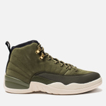 Мужские кроссовки Jordan Air Jordan 12 Retro Olive Canvas/Sail/Black/Metallic Gold фото- 0