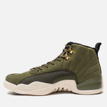Мужские кроссовки Jordan Air Jordan 12 Retro Olive Canvas/Sail/Black/Metallic Gold фото- 1