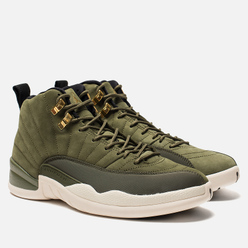 Мужские кроссовки Jordan Air Jordan 12 Retro Olive Canvas/Sail/Black/Metallic Gold